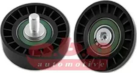 A.B.A YP136822 - Alternatör Gergi Rulmanı , Kanallı V-Kayısı parcadolu.com