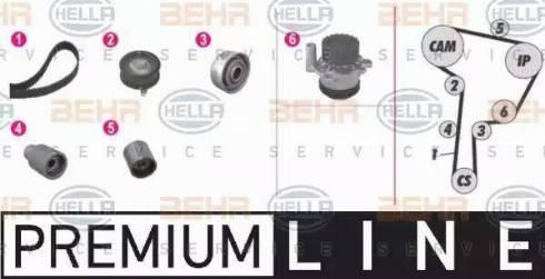BEHR HELLA Service 8MP 376 807-811 - Devirdaimlı Eksantrik Triger Seti parcadolu.com