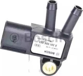 BOSCH 0281006065 - Fark Basınç Sensörü , Egzoz Basıncı parcadolu.com
