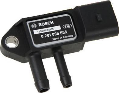 BOSCH 0281006005 - Fark Basınç Sensörü , Egzoz Basıncı parcadolu.com