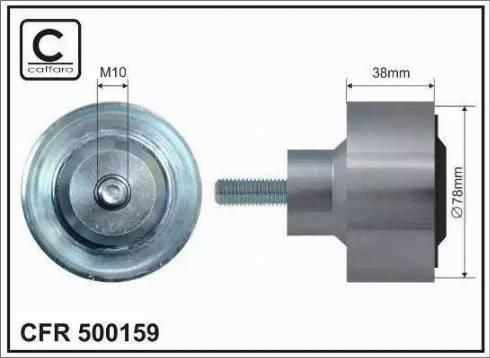 ABA 25707838 - Alternatör Gergi Rulmanı , Kanallı V-Kayısı parcadolu.com