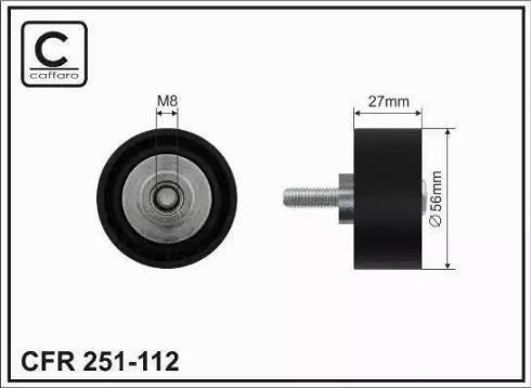 ABA 25155096 - Alternatör Gergi Rulmanı , Kanallı V-Kayısı parcadolu.com