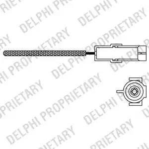 Delphi ES10966-12B1 - Lambda , Oksijen Sensörü parcadolu.com