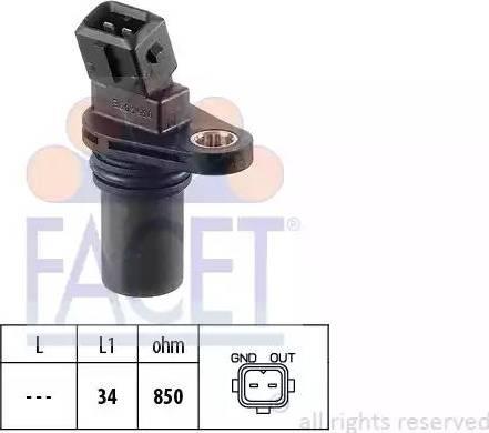 FACET 9.0354 - Krank Devir / Hız Sensörü , Şanzıman parcadolu.com