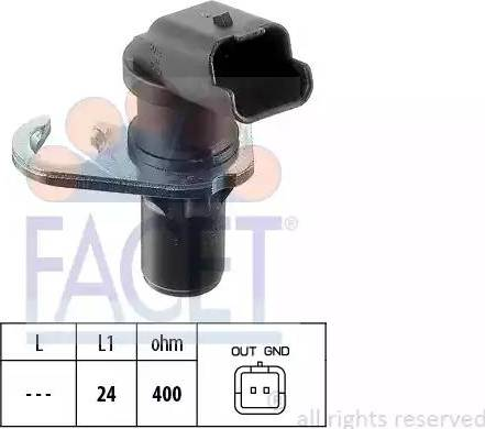 FACET 9.0303 - Krank / Devir Sensörü parcadolu.com