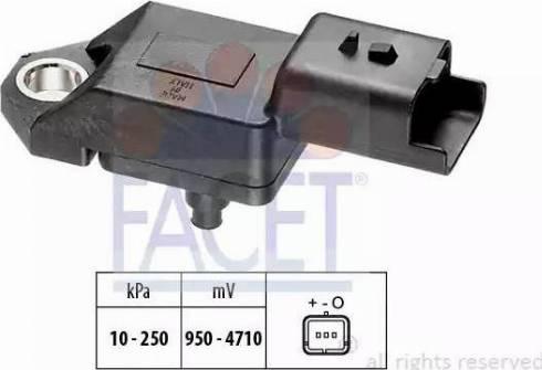 FACET 10.3034 - Fark Basınç Sensörü , Egzoz Basıncı parcadolu.com