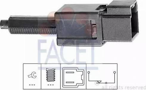 FACET 7.1165 - Salter, debriyaj kumandası (hiz kontrol sistemi) parcadolu.com