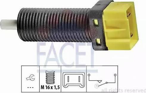 FACET 7.1134 - Salter, debriyaj kumandası (hiz kontrol sistemi) parcadolu.com