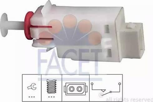 FACET 7.1123 - Salter, debriyaj kumandası (hiz kontrol sistemi) parcadolu.com