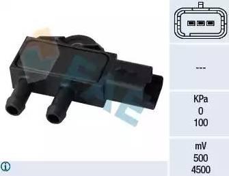 FAE 16111 - Fark Basınç Sensörü , Egzoz Basıncı parcadolu.com