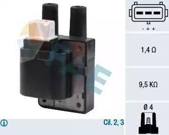 FAE 80205 - Ateşleme Bobini parcadolu.com