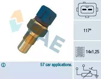 FAE 34440 - Hararet Müsürü , Su Sıcaklık Sensör parcadolu.com