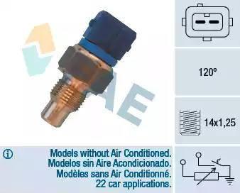 FAE 34460 - Hararet Müsürü , Su Sıcaklık Sensör parcadolu.com