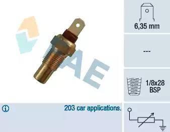 FAE 31570 - Hararet / Isı Müsürü , Sıcaklık Sensörü parcadolu.com
