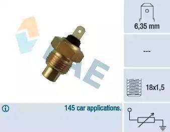 FAE 31020 - Hararet / Isı Müsürü , Sıcaklık Sensörü parcadolu.com