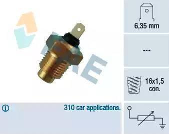 FAE 31140 - Hararet / Isı Müsürü , Sıcaklık Sensörü parcadolu.com