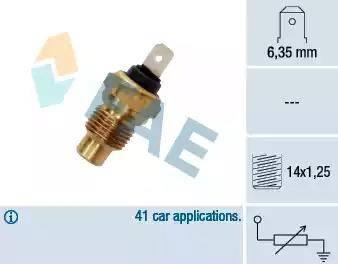 FAE 31280 - Hararet / Isı Müsürü , Sıcaklık Sensörü parcadolu.com