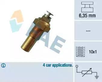 FAE 32100 - Hararet / Isı Müsürü , Sıcaklık Sensörü parcadolu.com