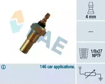 FAE 32350 - Hararet / Isı Müsürü , Sıcaklık Sensörü parcadolu.com