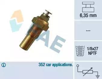 FAE 32230 - Hararet / Isı Müsürü , Sıcaklık Sensörü parcadolu.com