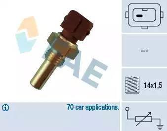FAE 32270 - Hararet / Isı Müsürü , Sıcaklık Sensörü parcadolu.com