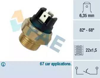 FAE 37350 - Fan Müşürü , Radyatör Fani parcadolu.com