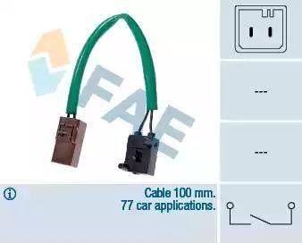 FAE 24905 - Salter, debriyaj kumandası (hiz kontrol sistemi) parcadolu.com