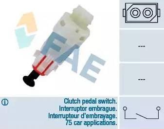 FAE 24499 - Salter, debriyaj kumandası (hiz kontrol sistemi) parcadolu.com
