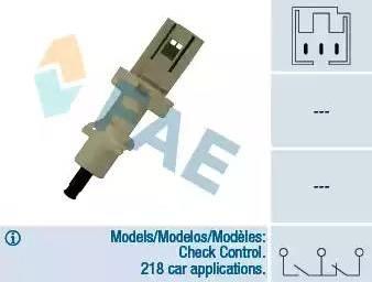 FAE 24410 - Salter, debriyaj kumandası (hiz kontrol sistemi) parcadolu.com