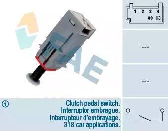 FAE 24790 - Salter, debriyaj kumandası (hiz kontrol sistemi) parcadolu.com