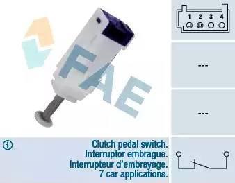 FAE 24792 - Salter, debriyaj kumandası (hiz kontrol sistemi) parcadolu.com
