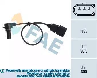 FAE 79062 - Krank Devir / Hız Sensörü , Şanzıman parcadolu.com