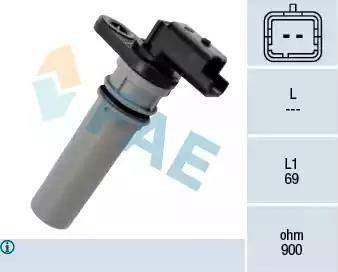 FAE 79256 - Krank Devir / Hız Sensörü , Şanzıman parcadolu.com