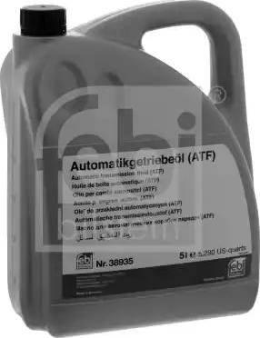Febi Bilstein 38935 - Otomatik Şanzıman Yağı / Atf parcadolu.com