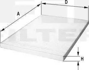 FIL Filter HC7076 - Polen Filtresi parcadolu.com