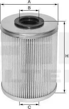 FIL Filter MF1324A - Yakıt Filtresi parcadolu.com