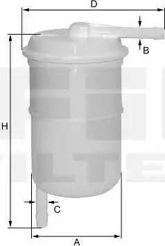 FIL Filter ZP8062FP - Yakıt Filtresi parcadolu.com