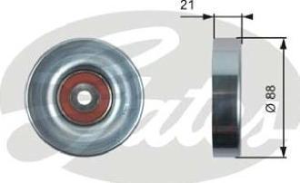 ABA 25653011 - Alternatör Gergi Rulmanı , Kanallı V-Kayısı parcadolu.com