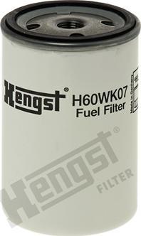 Hengst Filter H60WK07 - Yakıt Filtresi parcadolu.com