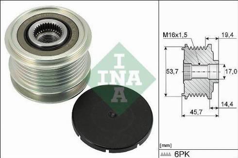 INA 535032810 - Alternatör Kasnağı , V-Kayış parcadolu.com
