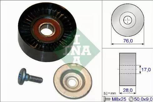 INA 532 0648 10 - Germe Makarası , Kanallı V Kayısı parcadolu.com