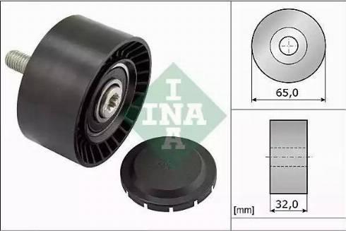 INA 532 0660 10 - Alternatör Gergi Rulmanı , Kanallı V-Kayısı parcadolu.com