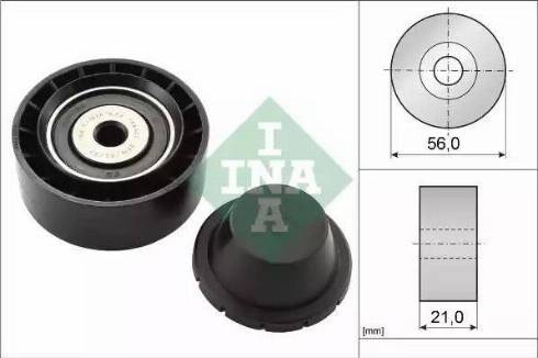INA 532 0260 10 - Alternatör Gergi Rulmanı , Kanallı V-Kayısı parcadolu.com