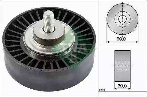 INA 532 0752 10 - Alternatör Gergi Rulmanı , Kanallı V-Kayısı parcadolu.com