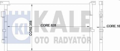 KALE OTO RADYATÖR 345375 - Kondansatör, Klima Radyatörü parcadolu.com