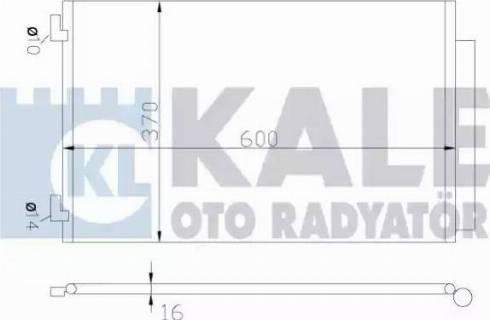 KALE OTO RADYATÖR 342655 - Kondansatör, Klima Radyatörü parcadolu.com