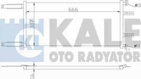 KALE OTO RADYATÖR 342850 - Kondansatör, Klima Radyatörü parcadolu.com