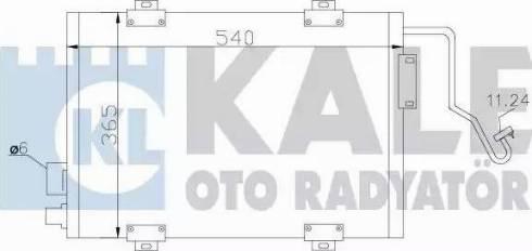 KALE OTO RADYATÖR 342810 - Kondansatör, Klima Radyatörü parcadolu.com