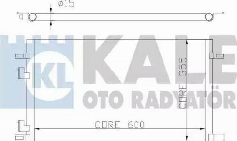 KALE OTO RADYATÖR 342825 - Kondansatör, Klima Radyatörü parcadolu.com