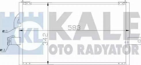 KALE OTO RADYATÖR 386400 - Kondansatör, Klima Radyatörü parcadolu.com